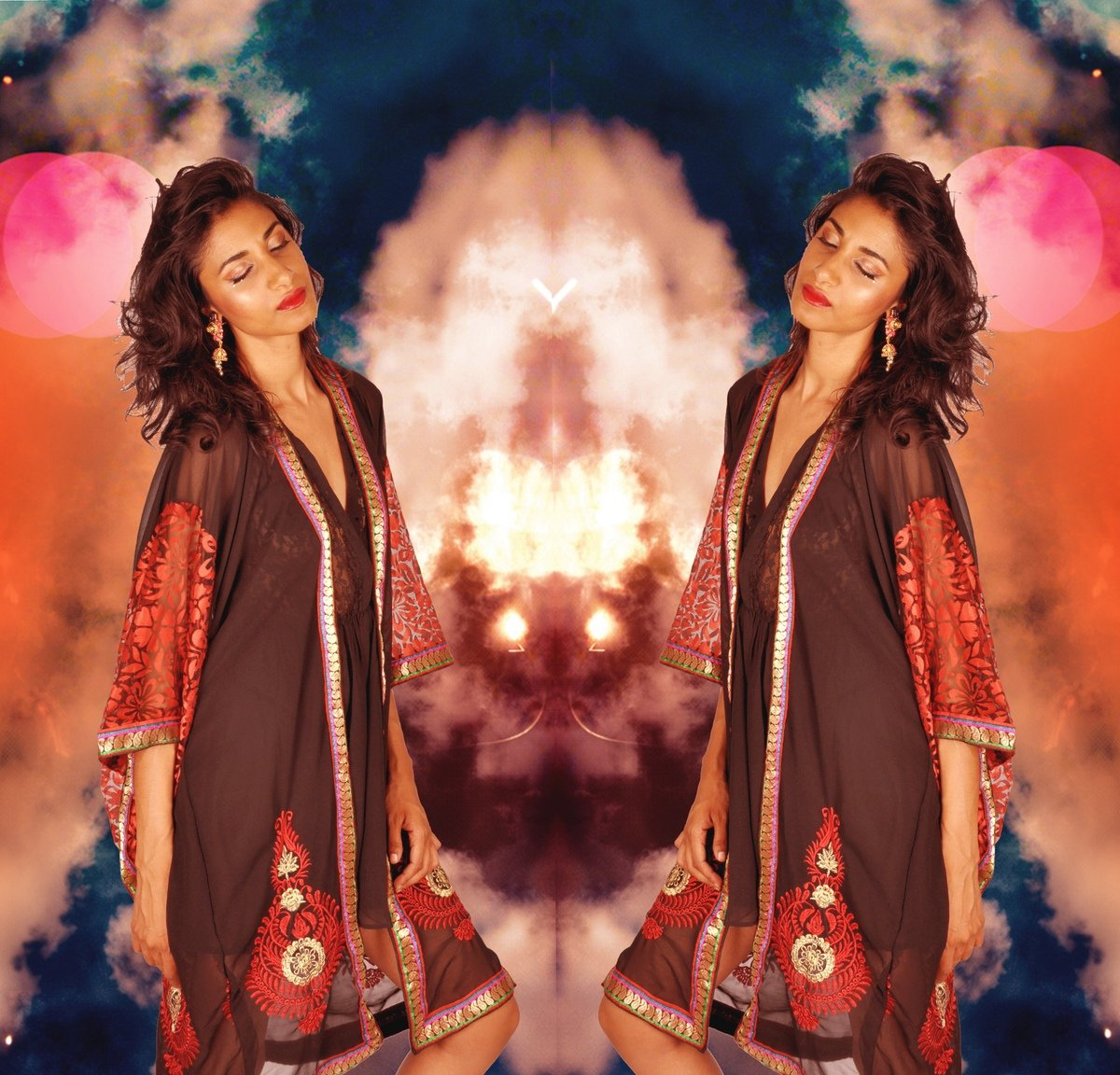 goddess art collage photos1
