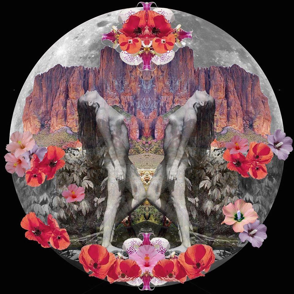 goddess art collage photos12