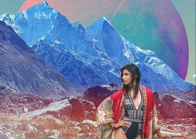 goddess art collage photos4