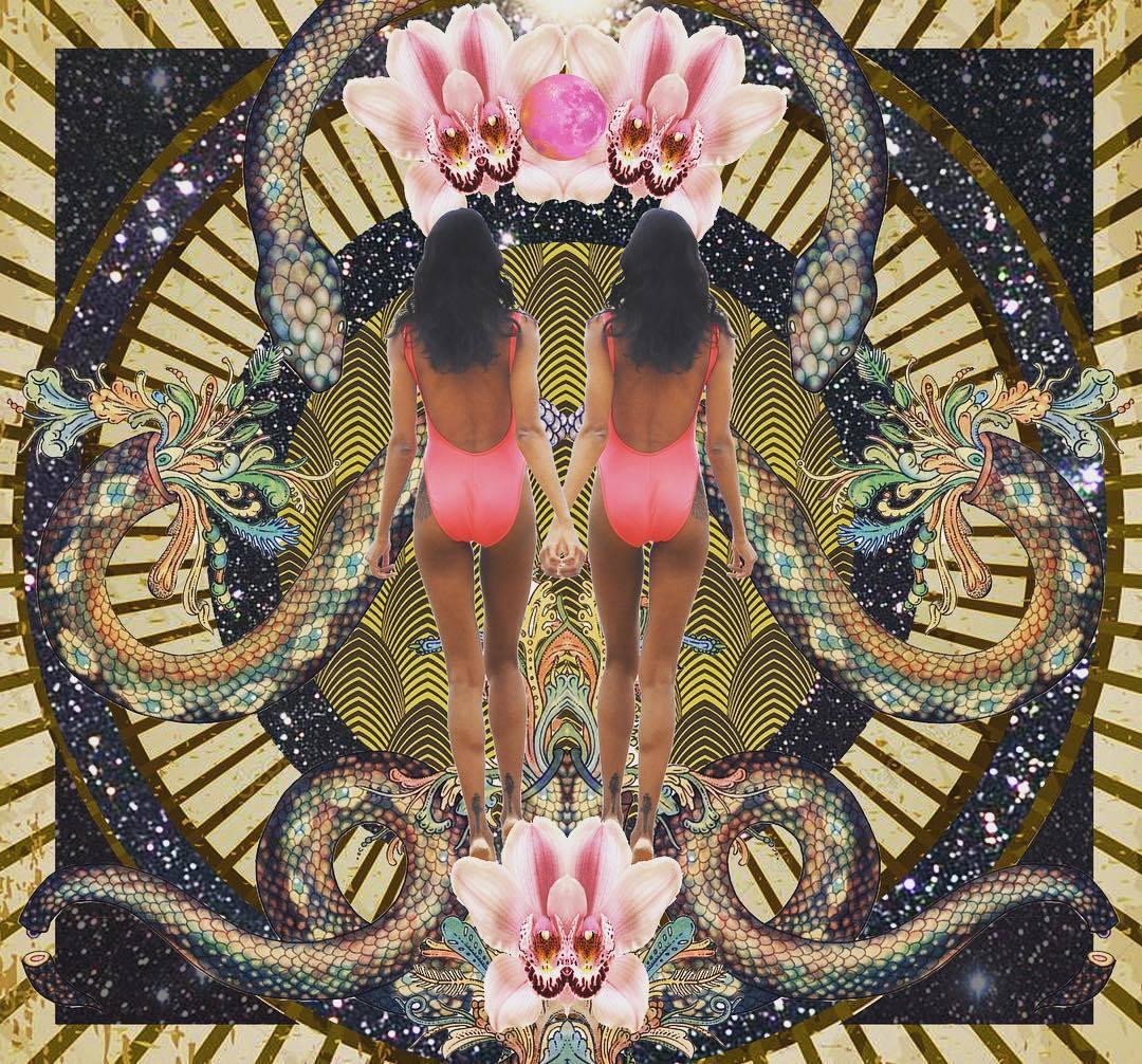 goddess art collage photos8